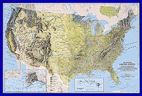 Physical Regions Of The United States - Map of us geographic regions